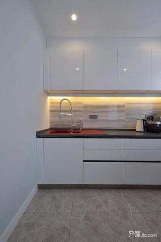 106平简约风格装修厨房效果图