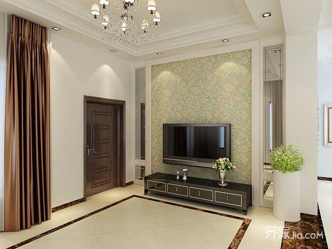 简约风格装修客厅效果图