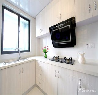 108平地中海风格家厨房效果图