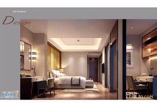 中式别墅设计卧室梳妆台