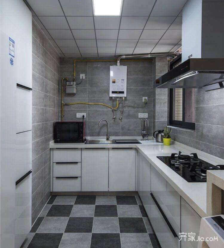 70平小户型装修厨房装潢图