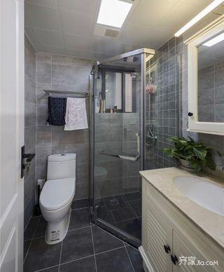 70平小户型装修卫生间装潢图