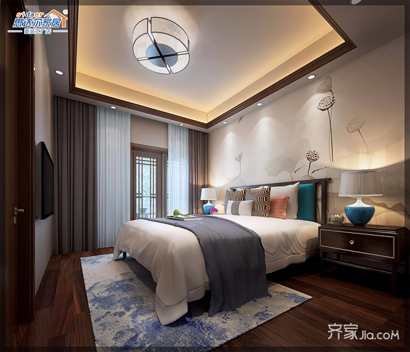 170平中式别墅设计 庄重华贵