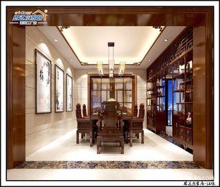 大户型豪华中式风装修效果图
