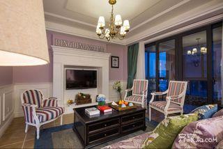 二居室温馨美式装修效果图