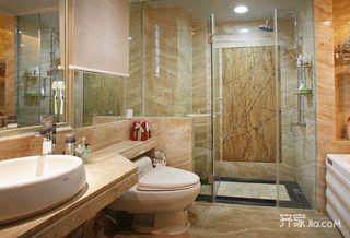 130平欧式风格家卫生间装潢图