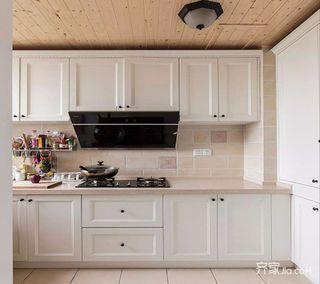 120㎡美式之家厨房效果图