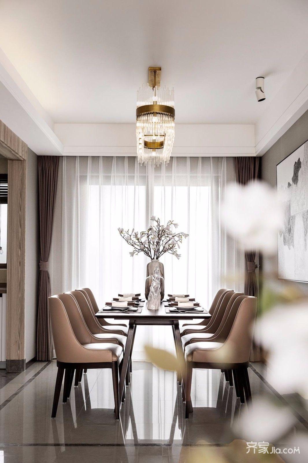 160平古典之家餐厅效果图