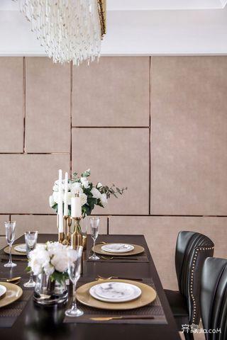 三居室欧式风格家餐桌图片
