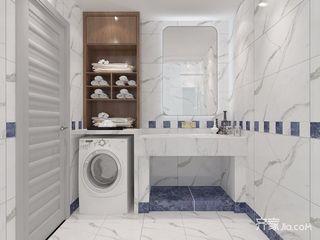 二居室北欧风格家卫生间装潢图