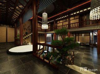 680平中式工装茶楼阁楼图片