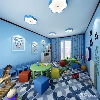 简约三居室装修儿童活动教室