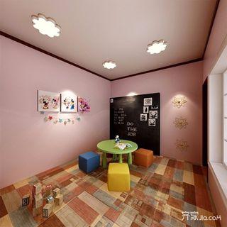 简约三居室装修3-5岁儿童房效果图
