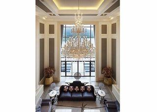 皇家气质的欧式别墅客厅欣赏图