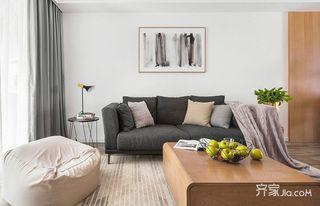60平宜家风格装修客厅布局图