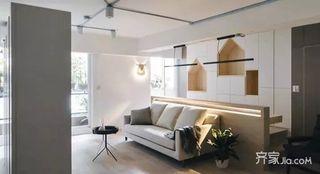 130㎡北欧风格三居室装修客厅布置图