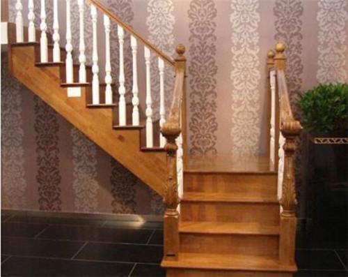 常见室内楼梯样式有哪些—弧梯形图片