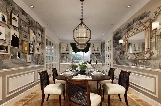 400平米欧式风格别墅装修案例
