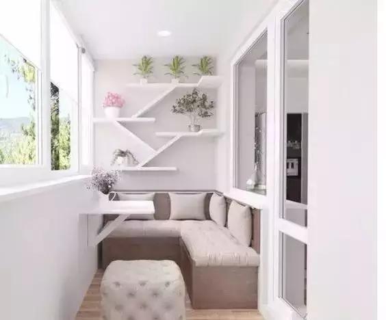 交换空间装饰:春天来了,听说这家阳台准备好开撩了!