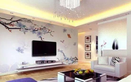 集成电视背景墙效果图 让电视墙不在枯燥乏味图片