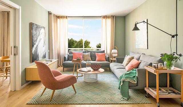多彩北欧风新房,简洁干净却暖暖的