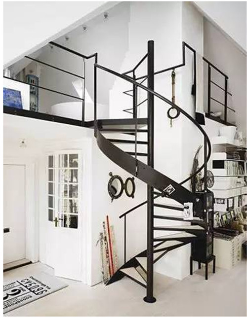 小复式楼梯装修设计图片 造型别致又不占空间