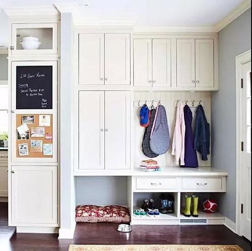 门厅柜鞋柜衣帽柜装修效果图,这6款超实用!