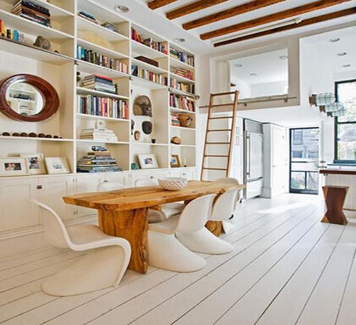 【城市人家18047719593】客厅装修成书房可以吗
