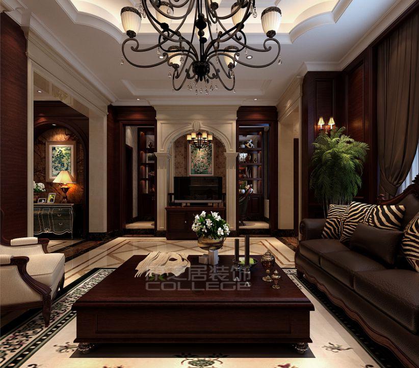 大户型别墅的欧式温馨风格