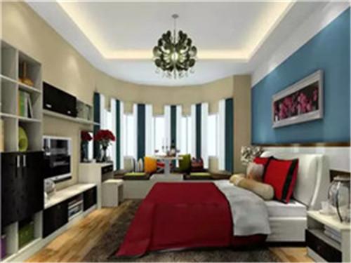 主卧飘窗设计效果图 让室内储物空间更强大