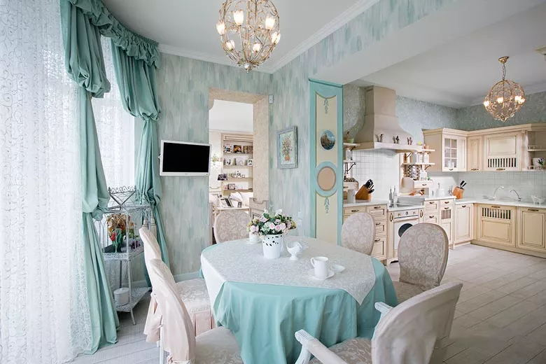 地中海风格餐厅,原来也可以有很多种设计~美美哒