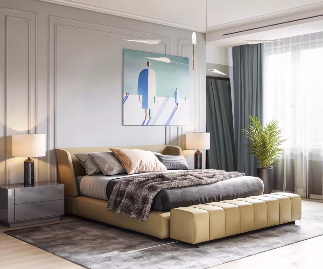 现代简约风格装修在很多人眼中等同于经济适用型装修,好像很难做出奢华、高档次的氛围。当然,这只是一种偏见,越来越多的大宅和别墅都在选择简约风格的装饰,而且一样一眼就能看出轻奢的味道,观察君介绍的这套案例就是一个典型例子。  简约但格调很高的客厅 客厅沙发不是铆钉古典风格,甚至不是皮沙发,而是简约的布艺沙发,线条优雅、造型经典,当然价格不菲。独特的黑色鹅卵石茶几,可以说是客厅的视觉焦点。  客厅电视墙  客厅背后是餐厅和厨房 沙发背后是椭圆形的餐桌,八张同一造型,但两种靠背纹理的餐椅。餐厅再往里就是厨房了,