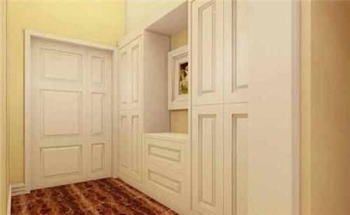 欧式玄关柜子尺寸多少合适 5款实用型玄关衣柜推荐图片