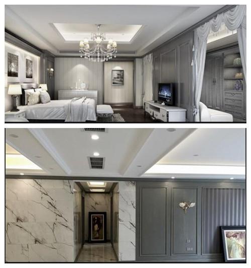 复式楼装修设计效果图 新中式风情打造大气家居图片