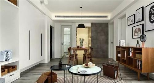 灰色木地板装修效果图 灰色木地板搭配出个性十足的空间