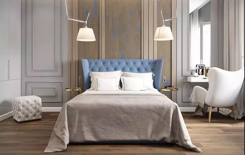 背景墙 房间 家居 起居室 设计 卧室 卧室装修 现代 装修 852_539