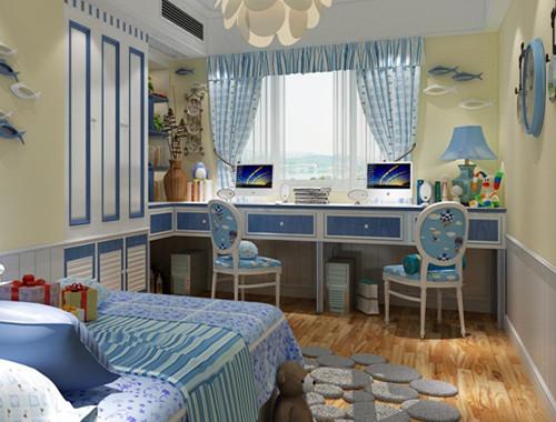 装修施工 施工流程 正文  面积小的儿童房,在家具的选择上应选择简单