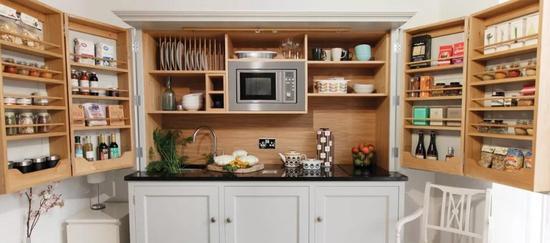 合理摆放厨具,全靠这些厨房神器