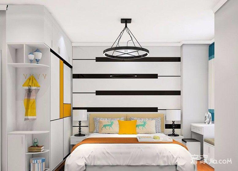 背景墙 房间 家居 起居室 设计 卧室 卧室装修 现代 装修 777_559
