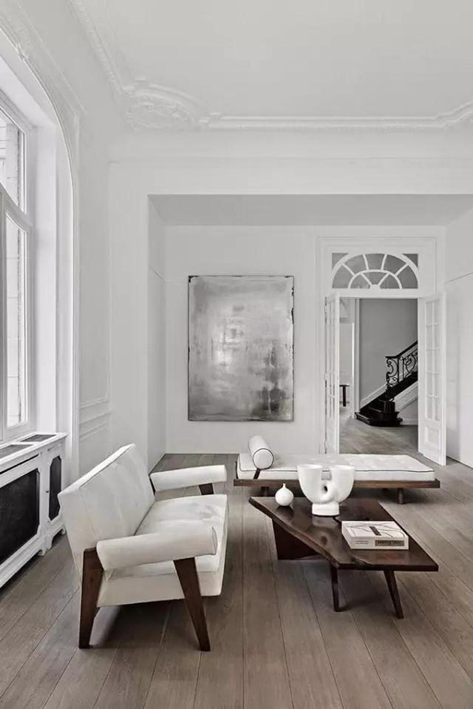 客厅加石膏线,竟然可以这么美!