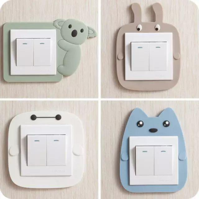 有这样的插座贴,还怕家里插座不美观吗?