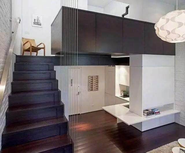 40平loft单身公寓,一个人住爽爆了!_自媒体_装修头条