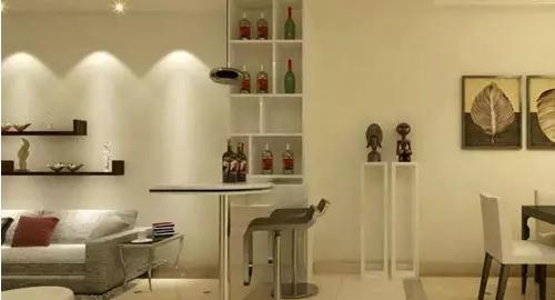 客厅酒柜装修效果图 带你感受别致精美的客厅风情