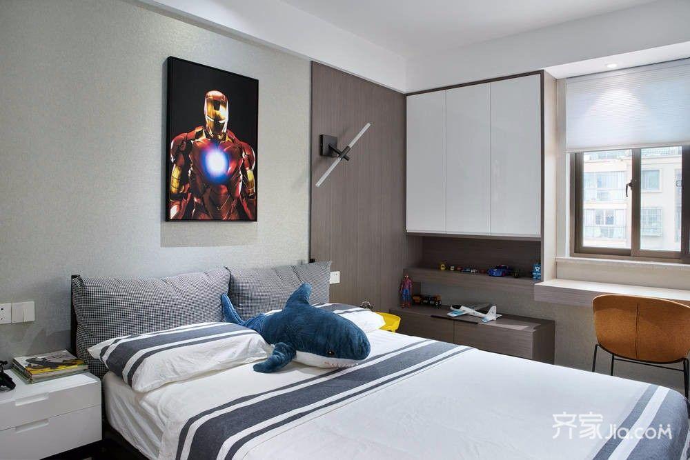 背景墙 房间 家居 起居室 设计 卧室 卧室装修 现代 装修 1000_667