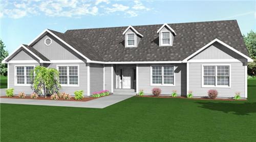 农村自建房一层设计 如此设计的农村自建房比别墅还高档