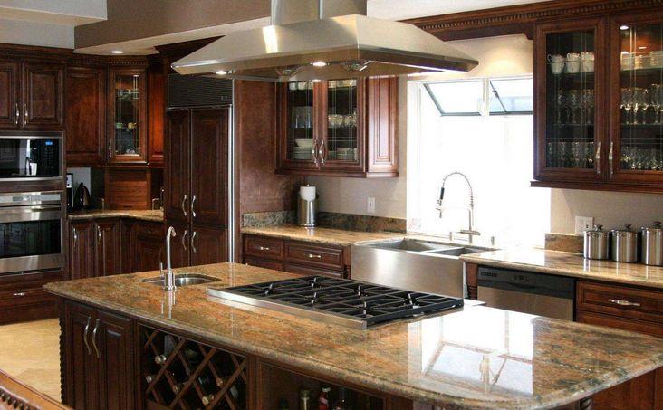 厨房灶台用什么材料好 老师傅告诉你什么材料好图片