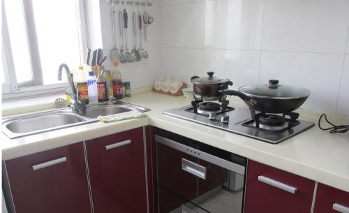 厨房灶台尺寸一般多少合适 厨房灶具的挑选方法图片