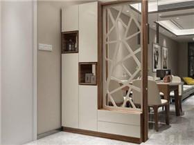 进门客厅玄关隔断如何设计 4种实用的隔断方法推荐