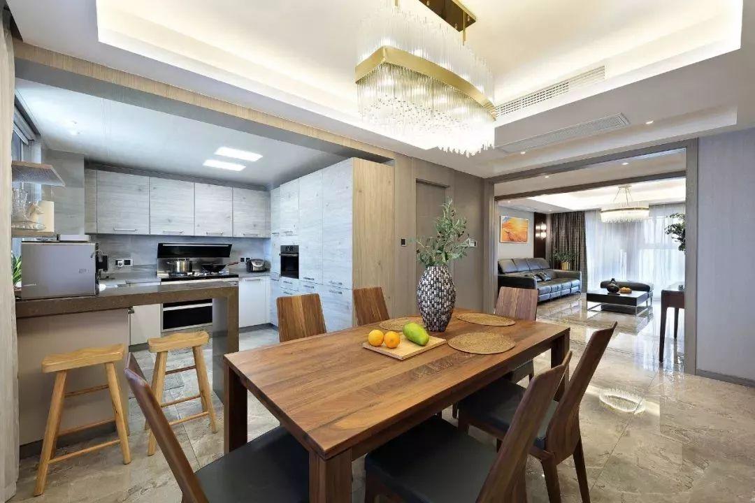 160平米现代简约风格装修效果图:客厅