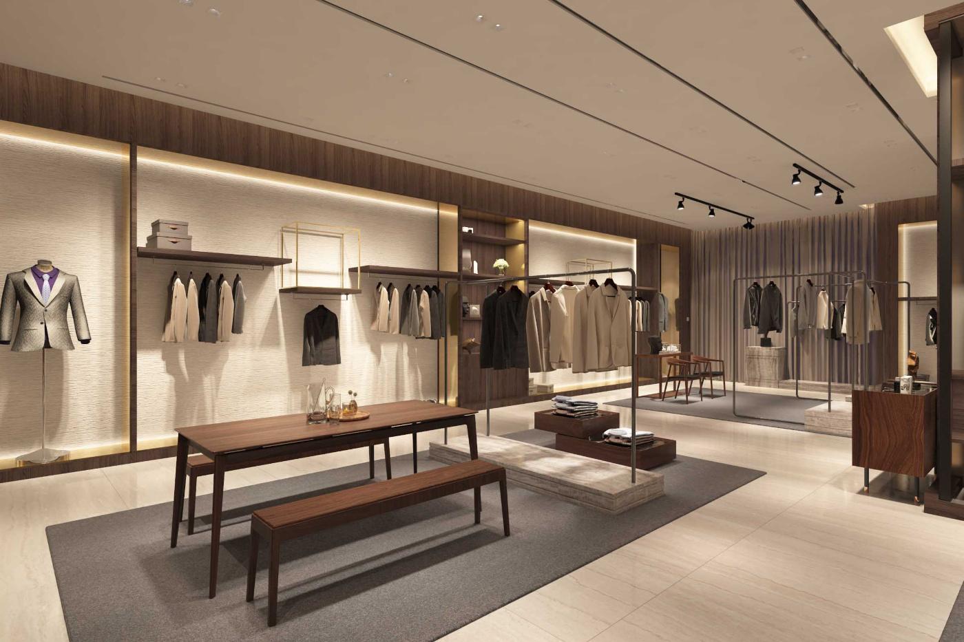 服装店设计成这样,商场表示不担心网购!i 大连·恒隆广场·品牌旗舰店